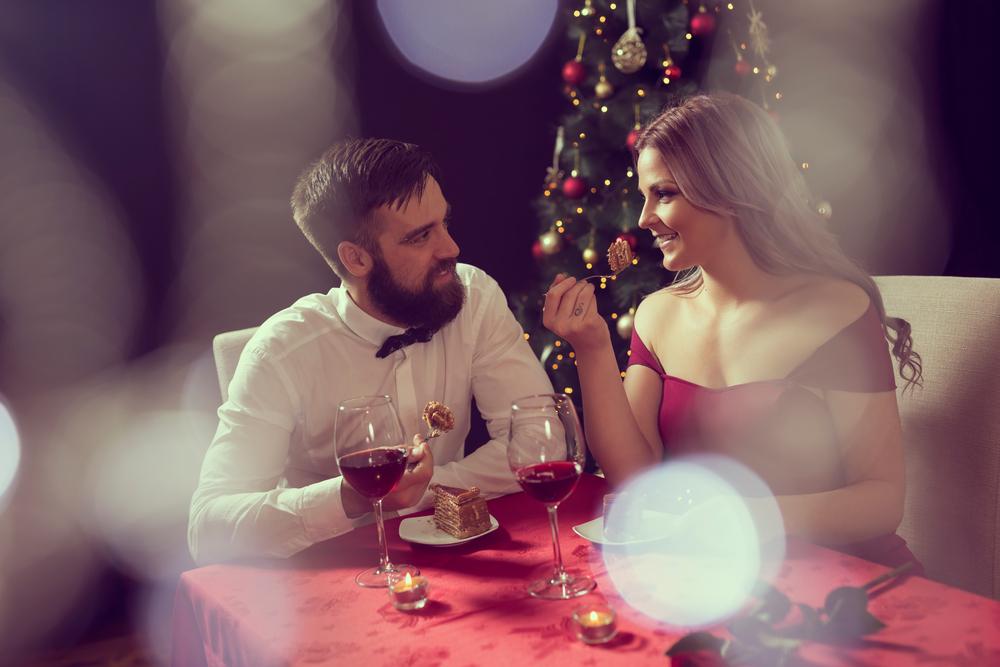 jantar a dois natal