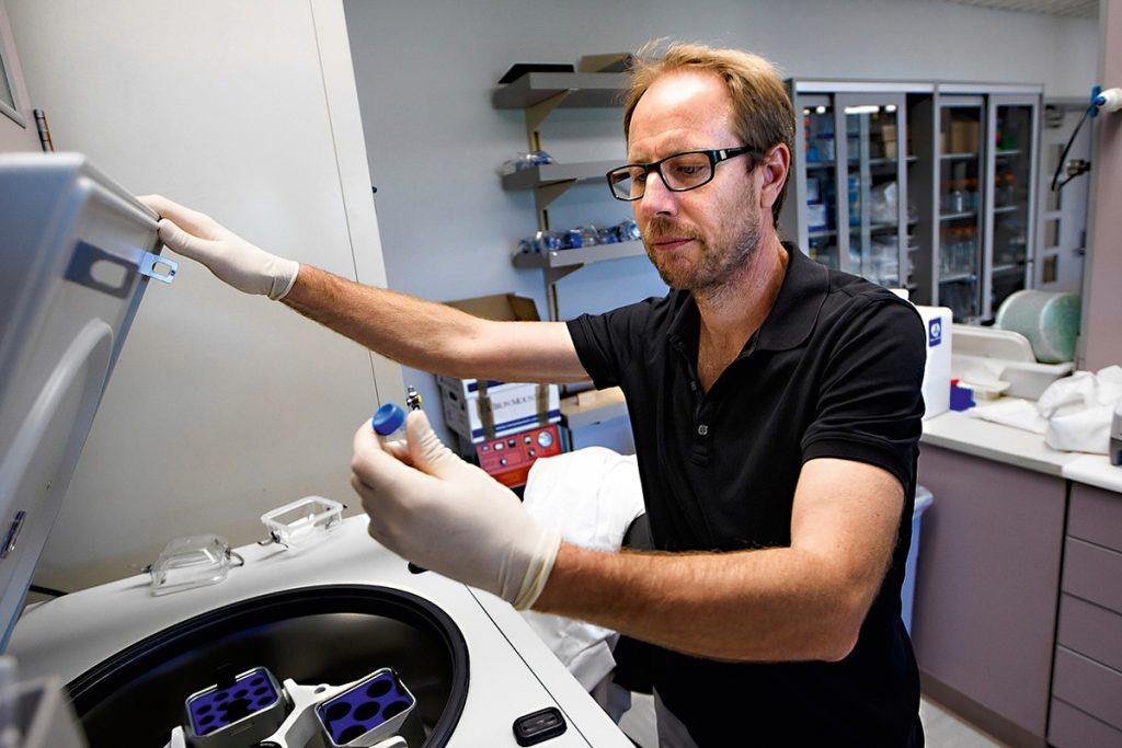 professor de neurologia Tony Wyss-Coray