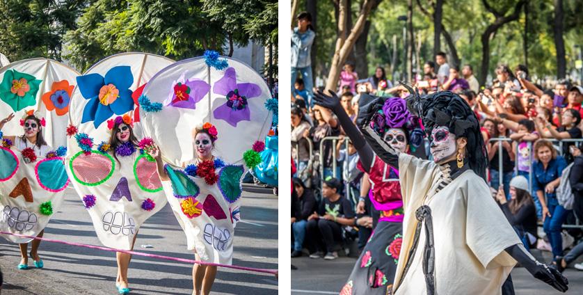 desfile dia de mortos mexico df