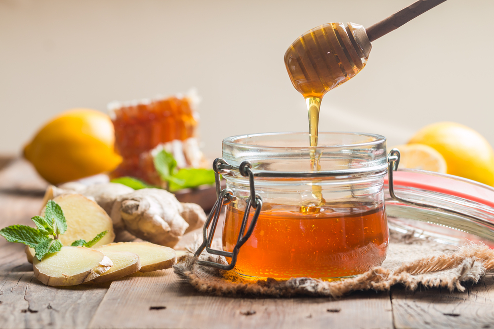 mel para curar a ressaca