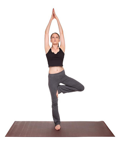Tree Pose position
