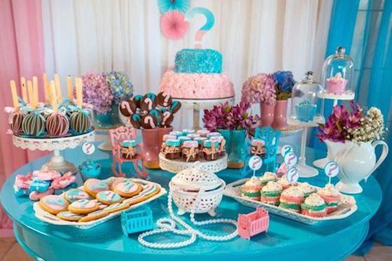 cupcakes cha revelação