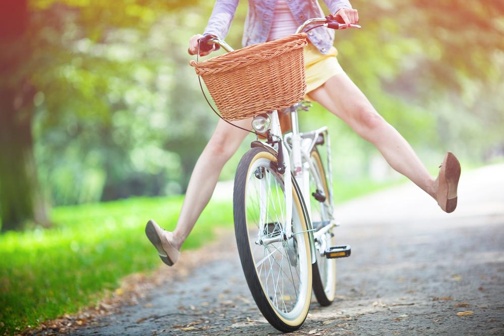 andar de bike