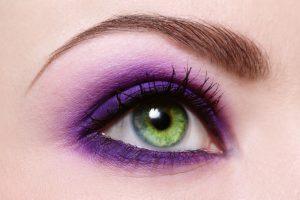 olhos ultra violet