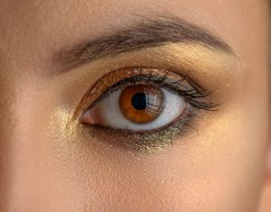 make olhos de natal