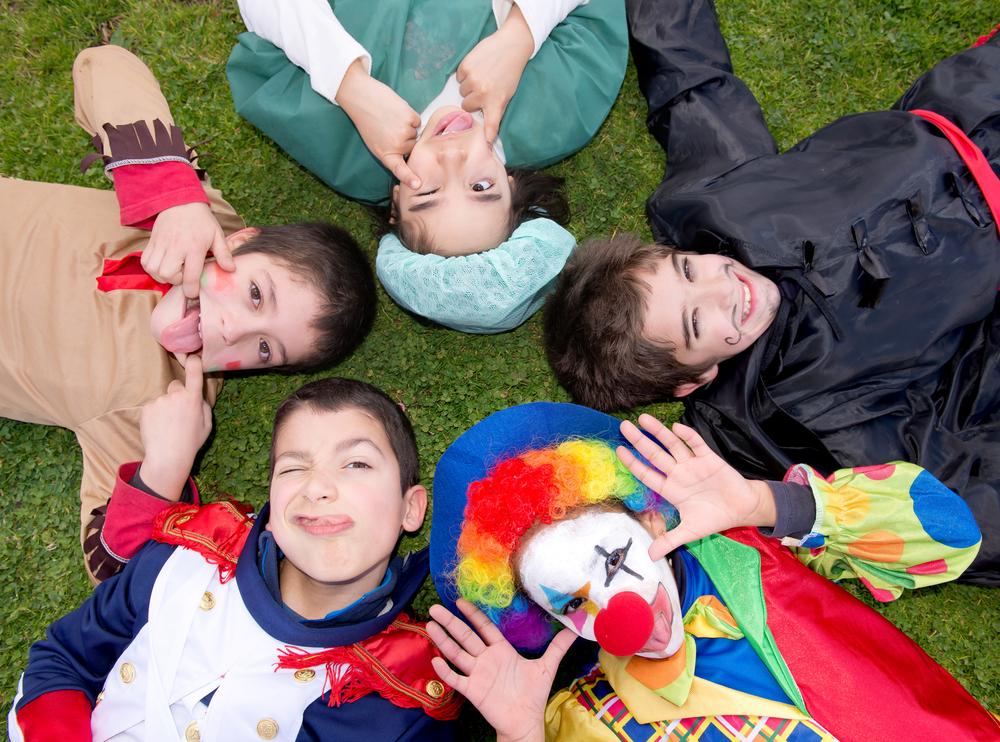 carnaval crianças